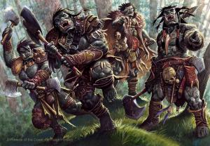 Picture of A Horde of Orcs