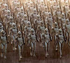 Picture of A clone army