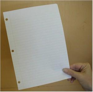 A Piece of Paper