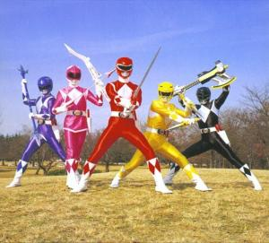 The Mighty Morphin Power Rangers